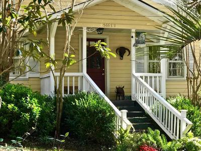 Aiken Single Family Home For Sale: 566 Newberry Street