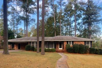North Augusta Single Family Home For Sale: 1104 Campbellton Drive