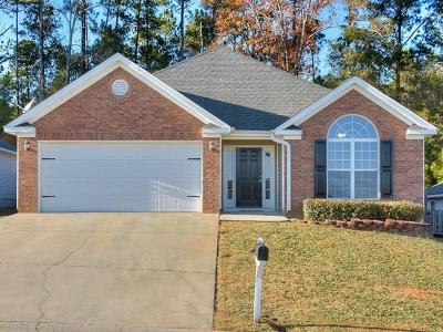 Grovetown GA Single Family Home For Sale: $157,900