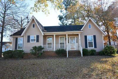 North Augusta Single Family Home For Sale: 1861 Hidden Hills Drive
