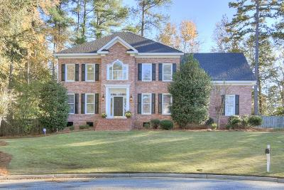 Evans Single Family Home For Sale: 4487 Sweet Gum Court