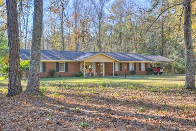 Richmond County Single Family Home For Sale: 1140 Bennock Mill Road