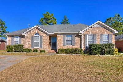 Augusta Single Family Home For Sale: 4418 Silverton Road