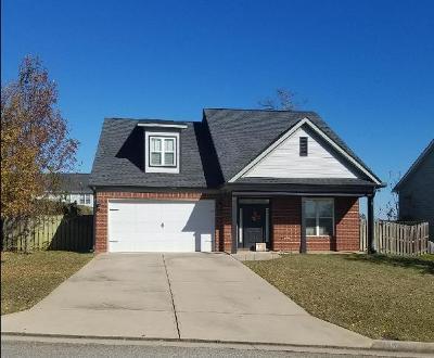 Evans Single Family Home For Sale: 1249 Berkley Hills Pass