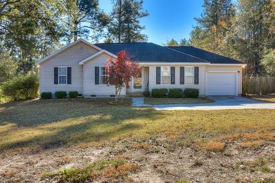 North Augusta Single Family Home For Sale: 1184 Willow Springs Drive