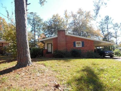 North Augusta Single Family Home For Sale: 707 Indian Mound Drive