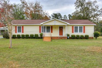 Aiken Single Family Home For Sale: 1022 Washington Drive