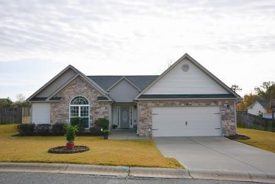 Grovetown Single Family Home For Sale: 513 Capstone Way