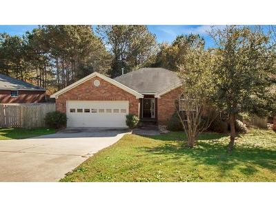 Grovetown Single Family Home For Sale: 4614 Country Glen Circle