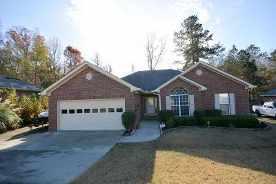 Grovetown Single Family Home For Sale: 4572 Country Glen Circle