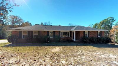 Aiken Single Family Home For Sale: 4723 Vaucluse Road