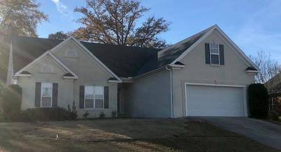 North Augusta Single Family Home For Sale: 1010 Scenic Court