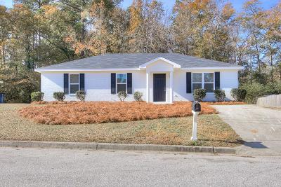 Grovetown Single Family Home For Sale: 1003 West Willowick Drive