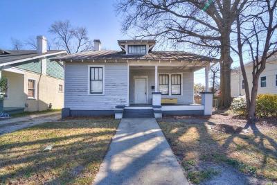 Augusta GA Single Family Home For Sale: $70,000