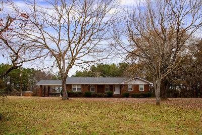 Appling Single Family Home For Sale: 5836 Cobbham Road