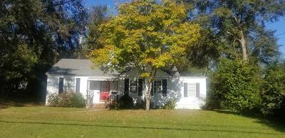 Augusta GA Single Family Home For Sale: $134,000