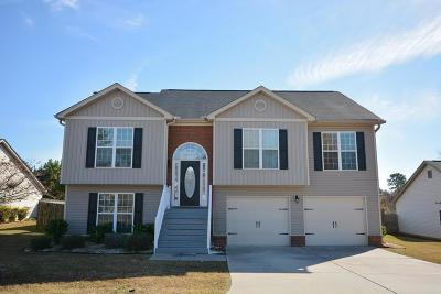 Grovetown GA Single Family Home For Sale: $219,900