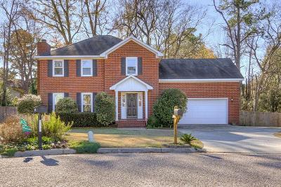 Augusta GA Single Family Home For Sale: $189,900