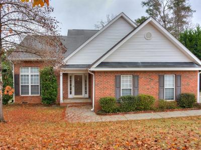 Evans Single Family Home For Sale: 4239 Deerwood Lane