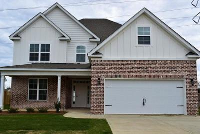 Grovetown GA Single Family Home For Sale: $318,900
