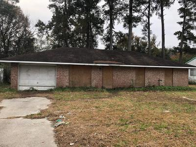 Augusta GA Single Family Home For Sale: $20,000