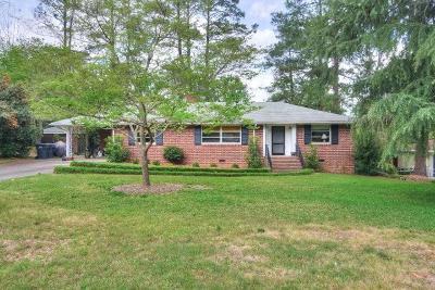 Augusta GA Single Family Home For Sale: $199,900