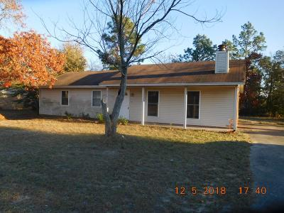 Hephzibah Single Family Home For Sale: 2550 Anthony Dejuan Pkwy