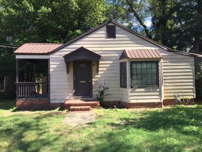 Augusta GA Single Family Home For Sale: $39,890