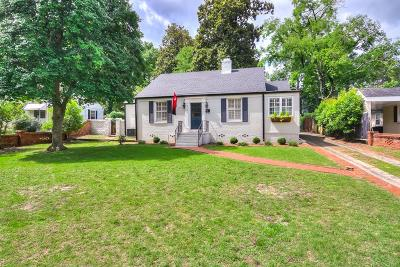 Augusta Single Family Home For Sale: 3114 Bransford Road