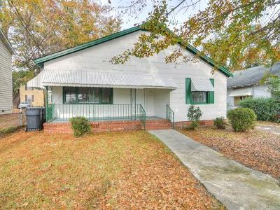 Augusta GA Single Family Home For Sale: $79,900