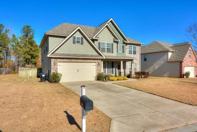 Evans Single Family Home For Sale: 905 Cranbrook Way