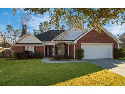 Augusta Single Family Home For Sale: 3242 Riverstone Drive