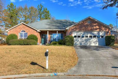 Grovetown Single Family Home For Sale: 911 Stoneview Court