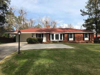 Augusta Single Family Home For Sale: 3083 Wheeler Road