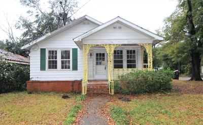 Augusta Single Family Home For Sale: 2030 McDowell Street
