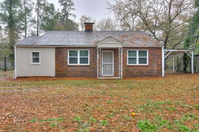 Augusta Single Family Home For Sale: 2202 Roosevelt Drive