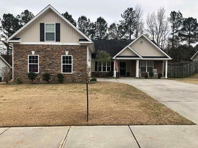 Grovetown Single Family Home For Sale: 4804 High Meadows Drive