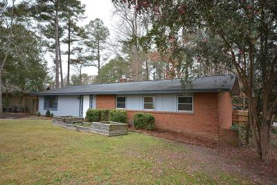 Augusta Single Family Home For Sale: 3355 Wedgewood