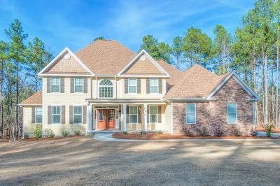 North Augusta Single Family Home For Sale: 233 Eutaw Springs Trail