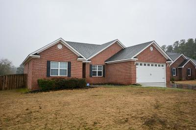Augusta Single Family Home For Sale: 3409 Wisteria Lane