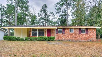 Augusta Single Family Home For Sale: 3334 Oakridge Drive