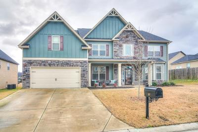 Grovetown Single Family Home For Sale: 207 Dripping Rock Pass