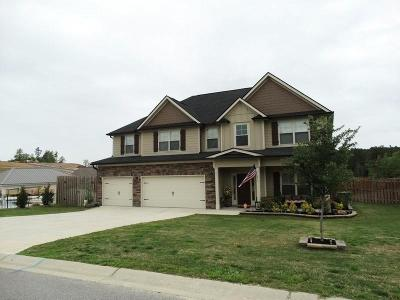 Grovetown Single Family Home For Sale: 5429 Victoria Falls