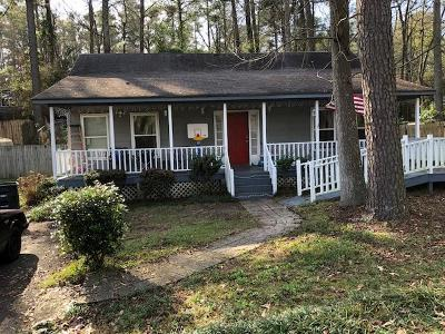 North Augusta Single Family Home For Sale: 1120 Womrath Road