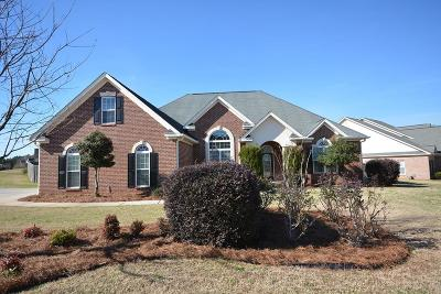 Evans Single Family Home For Sale: 892 Woody Hill Circle
