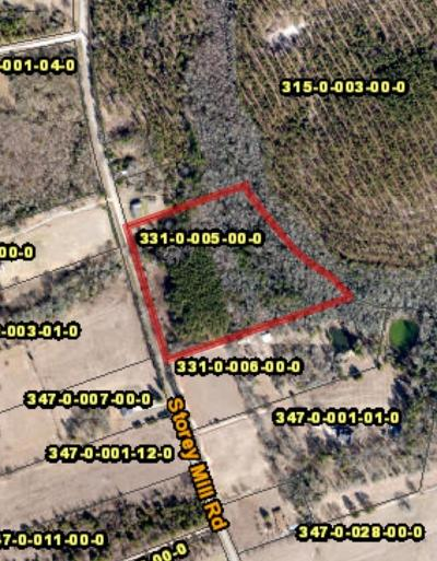 Richmond County Residential Lots & Land For Sale: 5016 Storey Mill Road