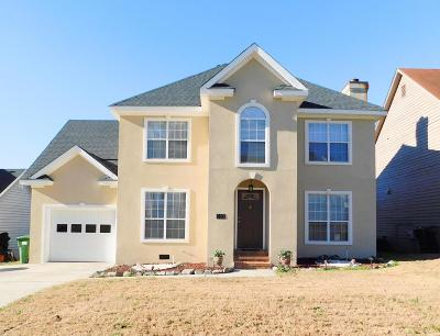 Evans Single Family Home For Sale: 603 Blue Ridge Crossing