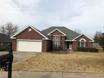 Grovetown Single Family Home For Sale: 104 Adams Lane