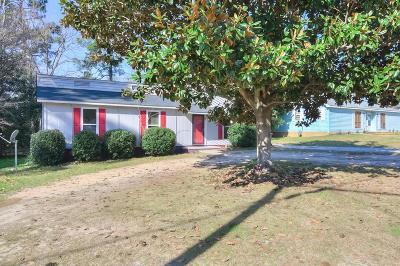 Hephzibah Single Family Home For Sale: 4227 Cap Chat Street