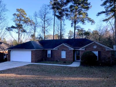 Grovetown Single Family Home For Sale: 4909 Luton Drive